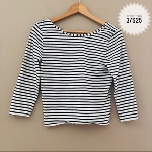 Juniors FOREVER 21 striped crop top